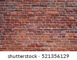 Old Red Brick Wall Texture...