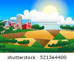 cartoon illustration of... | Shutterstock .eps vector #521364400