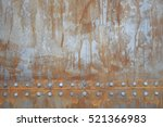 Texture Of Rusty Metal With...