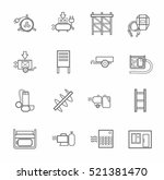 electric equipment and... | Shutterstock .eps vector #521381470