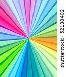 rainbow rays   Shutterstock . vector #52138402