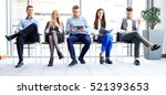business people waiting for job ... | Shutterstock . vector #521393653