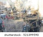 life of the city through a... | Shutterstock . vector #521399590