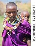 africa  tanzania   february... | Shutterstock . vector #521403454
