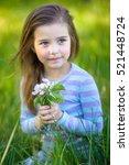 Little Beautiful Girl  In The...