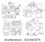 new year. christmas. greeting... | Shutterstock . vector #521465374