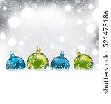 illustration winter background... | Shutterstock .eps vector #521473186