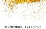 golden glitter frame background | Shutterstock . vector #521477434