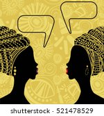 Ethnic African Background With...