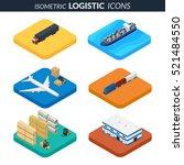 vector illustration. set of... | Shutterstock .eps vector #521484550