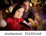 young happy couple taking a...   Shutterstock . vector #521501164