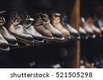 man shoes store | Shutterstock . vector #521505298