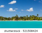 carlisle bay is a small natural ... | Shutterstock . vector #521508424