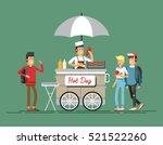 creative detailed vector street ...   Shutterstock .eps vector #521522260