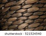 Wicker Texture Brown  Black An...
