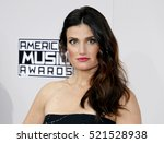 idina menzel at the 2016... | Shutterstock . vector #521528938