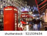 Christmas Lights On London...