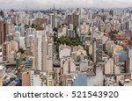 central zone of sao paulo  one... | Shutterstock . vector #521543920