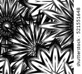 seamless floral background.... | Shutterstock . vector #521551648
