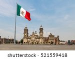 Panoramic View Of Zocalo And...