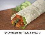 chicken durum turkish shawarma...
