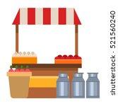 farmers vector illustration | Shutterstock .eps vector #521560240