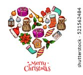 Christmas Love Heart Poster ...