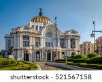 palacio de bellas artes  fine...   Shutterstock . vector #521567158