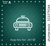 taxi icon   Shutterstock .eps vector #521579266