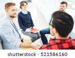 supporting friend | Shutterstock . vector #521586160