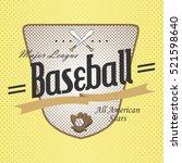 sport badge label | Shutterstock . vector #521598640