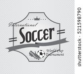 sport badge label   Shutterstock . vector #521598790