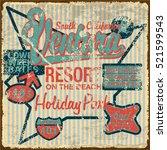 California Retro Poster.
