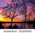 Sunset Over Southampton