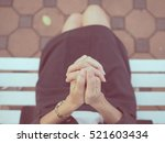 Woman Hands Praying