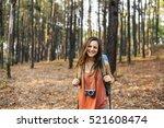 Girl Exploring Freedom Outdoor...