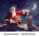 merry christmas and happy... | Shutterstock . vector #521614216