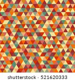 abstract triangle seamless... | Shutterstock .eps vector #521620333