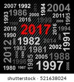 happy new year 2016 text design | Shutterstock .eps vector #521638024
