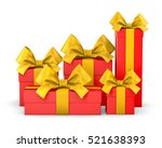 christmas and new year's day   ... | Shutterstock . vector #521638393