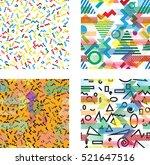 hipster fashion .trendy... | Shutterstock .eps vector #521647516