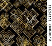 seamless pattern with greek... | Shutterstock . vector #521647588
