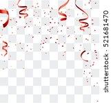 celebration background template ... | Shutterstock .eps vector #521681470