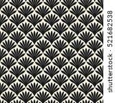 vector seamless pattern. modern ... | Shutterstock .eps vector #521682538