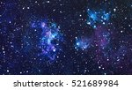 Starry Outer Space Background Texture - Fine Art prints