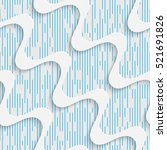 seamless wave pattern. abstract ... | Shutterstock .eps vector #521691826