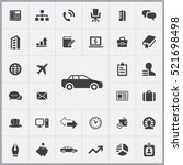 car icon. company icons... | Shutterstock .eps vector #521698498