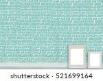 Empty Brick Wall Living Room...