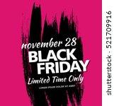 black friday sale banner   Shutterstock .eps vector #521709916