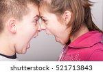 raging kids   children shouting ... | Shutterstock . vector #521713843